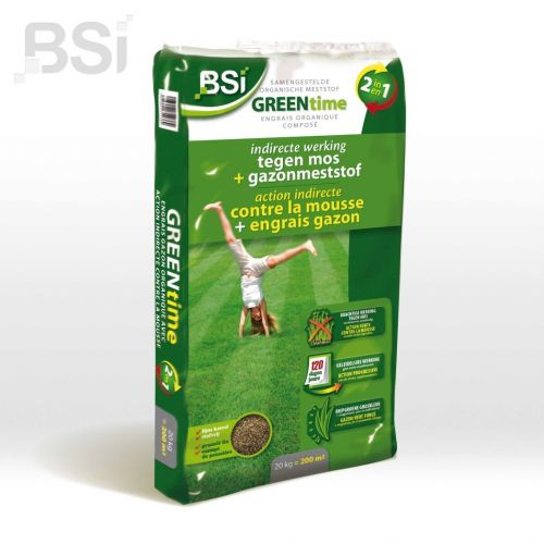 BSI Green time 2 in 1 gazon 20 kg
