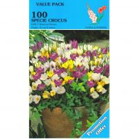 Crocus bloembollen Early Species Mixed 100 stuks