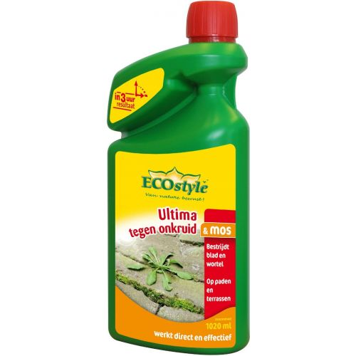 ECOstyle Ultima Onkruid & Mos concentraat 1020 ml