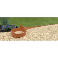 Nature borderrand terracotta h12cmx5m