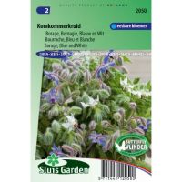 Borage zaden Blauw en wit (Borago officinalis)